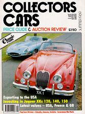 Collector's Cars Price Guide & Auction Review Summer 1989 - Jaguar XK models