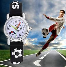 Montre à quartz Football Enfant Garçon Fille Watch Armbanduhr Fußball