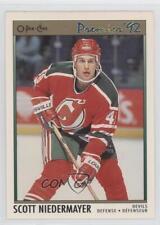 1991-92 O-Pee-Chee Premier #35 Scott Niedermayer New Jersey Devils Hockey Card