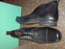 Clarks Uomo Goto alla caviglia nere CUOIO FORMALE Stivali UK 8,9, 10 g