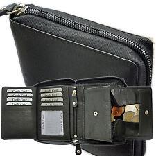 porte-monnaie avec tout autour fermeture éclair compartiment secret