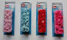Herz Druckknöpfe Color Snaps  12,4 mm Prym nähen stricken Knopf