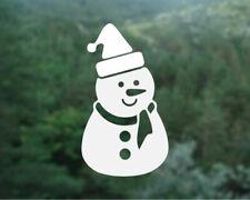 Snowman Christmas Decal, Snowman sticker, Snowman decal, Shopfront window decal