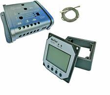 DUAL 10A 20A solar charge controller12v regulator display caravan motorhome duo