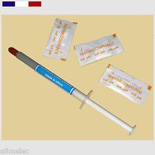 Graisse thermique silicone en tube seringue ou sachet