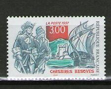 TIMBRE 3103 NEUF XX LUXE - CORSAIRES BASQUES - FORT DE SOCCOA - NAVIRE LA RHUNE
