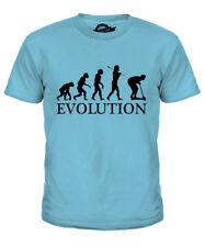 Micro SCOOTER Evoluzione dell'Uomo Ragazzi T-Shirt Tee Top Regalo Maxi Micro