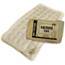 Merino kbT Schurwoll Kinder-Unterbett Auflage kbA Baumwoll-Bezug 60x120 / 70x140