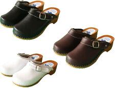 Zuecos de trabajo Para Mujer Jardín Cocina Enfermera Zapatos Zapatillas por Casa