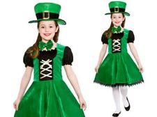 Ragazze Leprechaun Irlandese Costume Bambini Irlanda Patricks Vestito