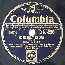 78 record in frame HORN BELT BOOGIE / PRETTY LITTLE BLACK-EYED SUSIE guy mitchel