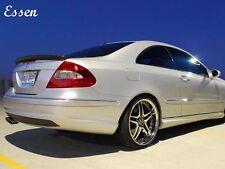 Carbon Mercedes W209 Trunk Deck Lip Spoiler A Type Coupe 2003-2009