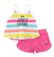 Juicy Couture Infant Girls Multi Color 2pc Short Set Size 12M 18M 24M $60