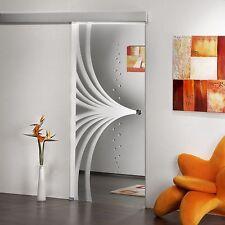 Schiebetür Ganzglastür Glastür Tür Innentür Türen Zimmertüren Alu60 ST 744-F