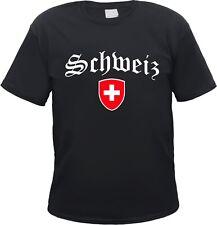 SCHWEIZ T-Shirt, Wappen, Zürich, Bern, Luzern, Uri, Schwyz, Obwalden, Basel
