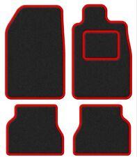 Hyundai Sonata IV 06- Super Velour Black/Red Trim Car mat set