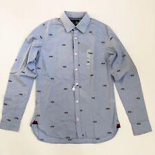 2da4d966 NWT Tommy Hilfiger Men's Slim Fit Flag Critter Oxford Shirt Button Front  All SZ