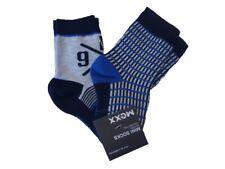MEXX Niño Calcetines de bebé 2 Pack Azul Yonder Mezcla Talla 16-18