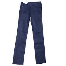 LE TEMPS DES CERISES Jeans regular enduit bleu marine SPECTRA NAVY femme