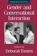 Gender and Conversational Interaction (Oxford Studies in Sociolinguistics)