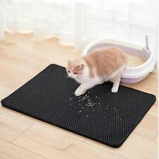Cat Litter Tray Mat Double-Layer Pad Trapper EVA Foam Rubber Rug for Cats Kitten