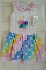 NWT GIRLS BONNIE JEAN BIRTHDAY GIRL PARTY DRESS SIZE 4 LAST ONE!