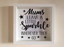 IKEA RIBBA Cornice Di Vinile Personalizzato Wall Art preventivo le madri giorno mamme Sparkle