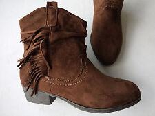 NEU Jane Klain Stiefelette Ankle Boots Western in Zimt/Braun  Größe 37-42