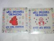 LOT 2 CD / MES PETITES CHANSONS / MON NOEL PREFERE + AVEC MES HEROS / NEUF CELLO