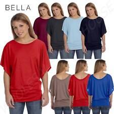 Bella + Canvas Ladies Flowy Draped Sleeve Dolman T-Shirt M8821