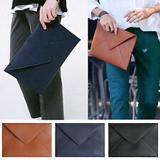 Korea New Fashion Modern ENV Clutch Briefcases Pouch Purse Wallet Tablet PC Bag