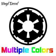 Star Wars Galactic Empire Decal Sticker, Vinyl Die Cut Logo for Car, Laptop