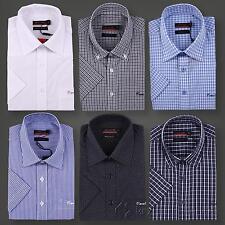 Pierre Cardin Übergröße kurzarm Freizeithemd Hemd Herren S M L XL 2XL 3XL 4XL