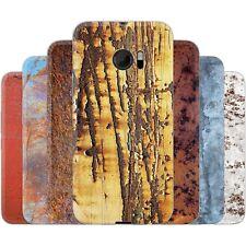 Dessana Metallique Motif Etui de Protection en Silicone Étui Portable pour HTC