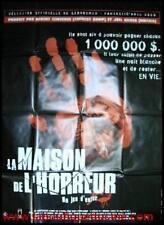 LA MAISON DE L'HORREUR Affiche Cinéma / Movie Poster