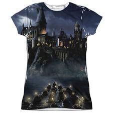 Harry Potter Hogwarts Juniors Sublimation Polyester Shirt