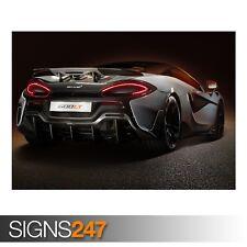 McLaren 600LT (ZZ030) de visión trasera coche Foto Poster Print Arte Cartel * Todos los Tamaños