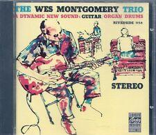 CD ALBUM 11 TITRES JAZZ--THE WES MONTGOMERY TRIO / GUITAR ORGAN / DRUMS--1987