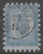 Finland 4 Kasko Cancel Rare ! 5 Kop  1860  ! No Faults Extra Fine !