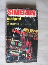 Maigret au picratt's de Simenon