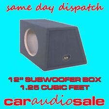 12 pulgadas SUBWOOFER SUB caja - 1,25 pie cúbico bajo Caja mismo envío del día