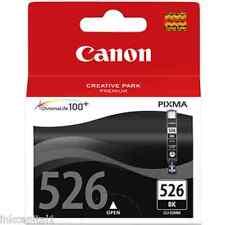 Canon CLI-526Bk, CLI526 Nero originale OEM Cartuccia A Getto Di Inchiostro