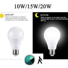E27 Radar Sensor Ambient PIR Motion 10/20W LED Globe Bulb Light Lamp Practical