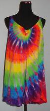 Tie dye dyed Womens  Deep V-Neck Tank Top Shirt Large XL 2XL