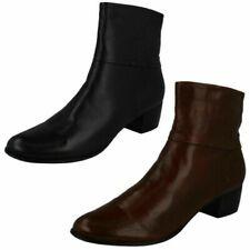 Ladies Van Dal Heeled Ankle Boots - Romeo