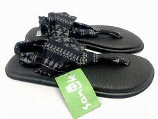 Sanuk Yoga Sling 2 Prints Women's Sandals Black / Natural Koa Tribal 1015889