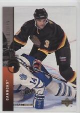 1994-95 Upper Deck #398 Bret Hedican Vancouver Canucks Hockey Card