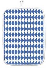 PRESINE 30 x 20 cm piccolo bavarese blu bianco ROMBO BAVIERA 40853