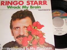 "7"" - Ringo Starr (Beatles) Wrack my Brain & Drumming is my Madness - MINT # 1506"
