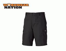 Dickies Redhawk Cargo Combat Lavoro Pantaloncini Neri